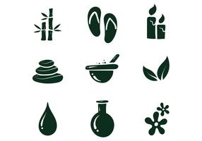 Free Spa Icon vector