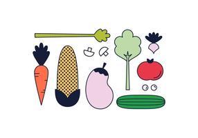 Gratis grönsaker Vector