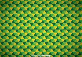 Abstract Triangle Green Background vector