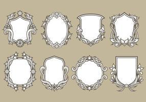 Blason Vector Iconos