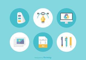 Freie Grafik-Design-Vektor-Icons