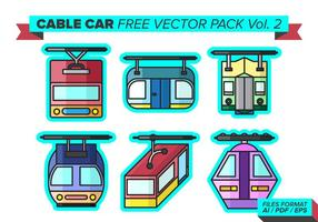 Cable Car Free Vector Pack Vol. 2
