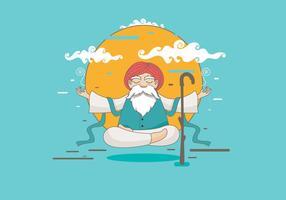 Guru Vector Character