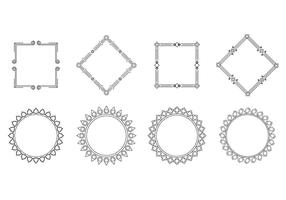 Free cartouche Rahmen Vektor