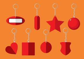 Free Key Chain Icons vector