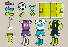 Voetbal Kit Vector Pack