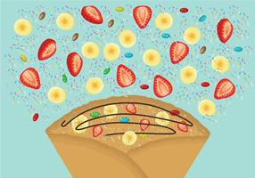 Free Crepes Illustration
