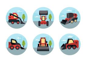 Skid Steer Vector Pack