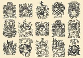 Emblèmes héraldiques complexes