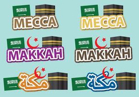 Mecca Titles vector