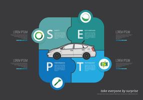 Prius Infographic Illustration