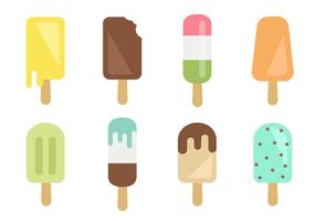 Vector de crème glacée gratuite