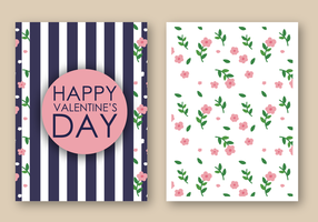 Free Happy Valentine's Day Card Vector