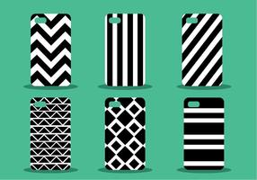 Phone Case Pattern Vector Set