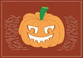 Free Spooky Vector Kürbiskopf