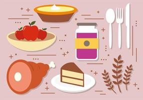 Gratis Thanksgiving Vector Decoration