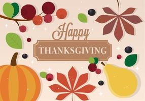 Free Vector Thanksgiving Background