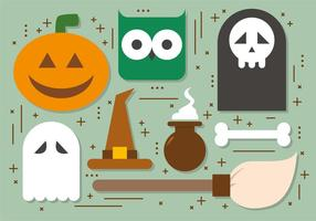 Free Halloween Elements Vector Collection