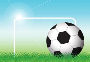 Vector de balón de fútbol