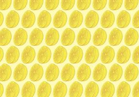 Yellow Lemon Pattern