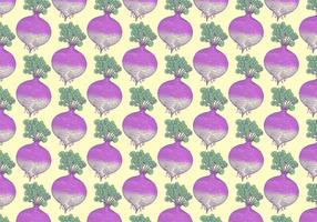 Rutabaga Vegetable Pattern