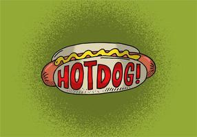 Vettore di Hot Dog