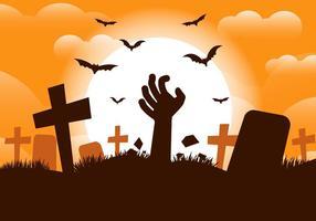 Fondo de vectores de Halloween gratis