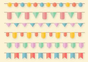 Garlands Vector