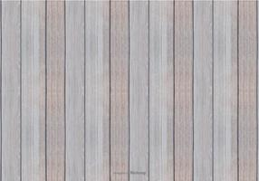 Fondo blanco de la madera del vector