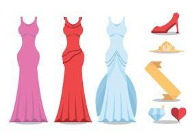 Pageant Vector Set