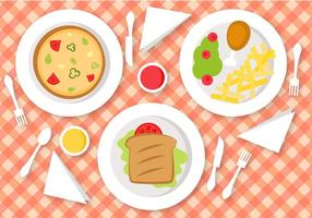 Gratis Lunch Vector
