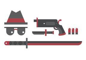 Yakuza conjunto de vectores