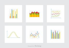 Graphs Vector Icons