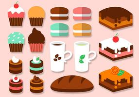 Gratis Bakery Elements Vector