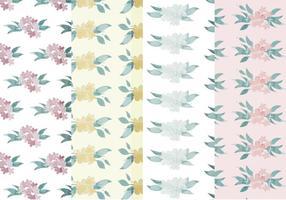Motifs floraux vectoriels
