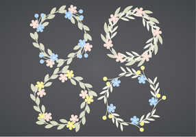 Vector Wreaths Set