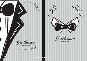 Gentleman Hintergrund vektor