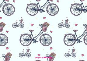 Bicycle Vector Pattern