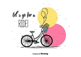 Bicycle Vector Background