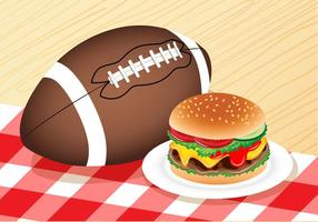 Burger for Tailgate
