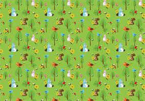 Forest-animal-pattern-vector