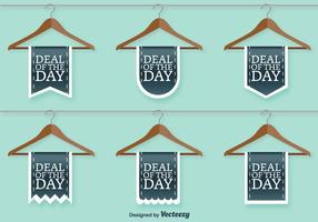 Clothing Shop Sale Vector Signs