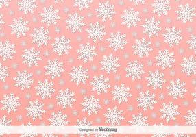 Flocon de neige Vector Vector Background