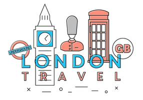 Free London Travel Vectors