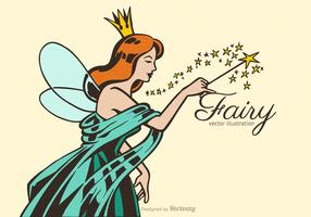 Fri Fairy Vector Illustration