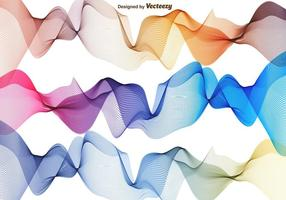 Vector Set Of Abstract Waves