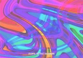 Hot Color Vector Abstract Marble Background