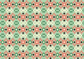 Square Pastel Pattern vector