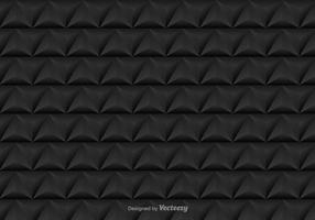 Vector seamless pattern avec des triangles noirs