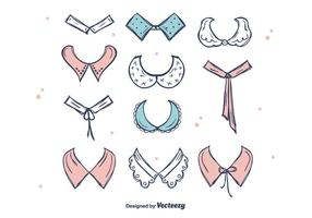 Beautiful Collars Vector